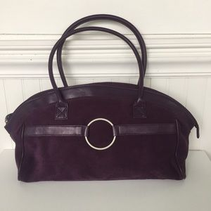 Estee Lauder || Purple Weekend Bag